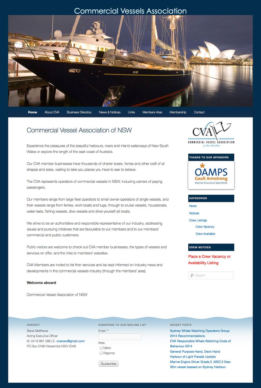 CVANSW website