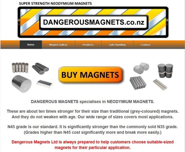 Dangerous Magnets